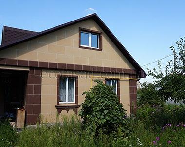 Утепляем дом панелями