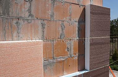 Утепление термопанелями кирпичных стен