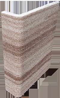 Термооткос мраморная крошка